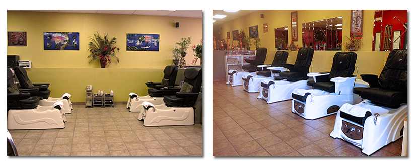 Lovely Nails & Hair, mens womens manicure, pedicure